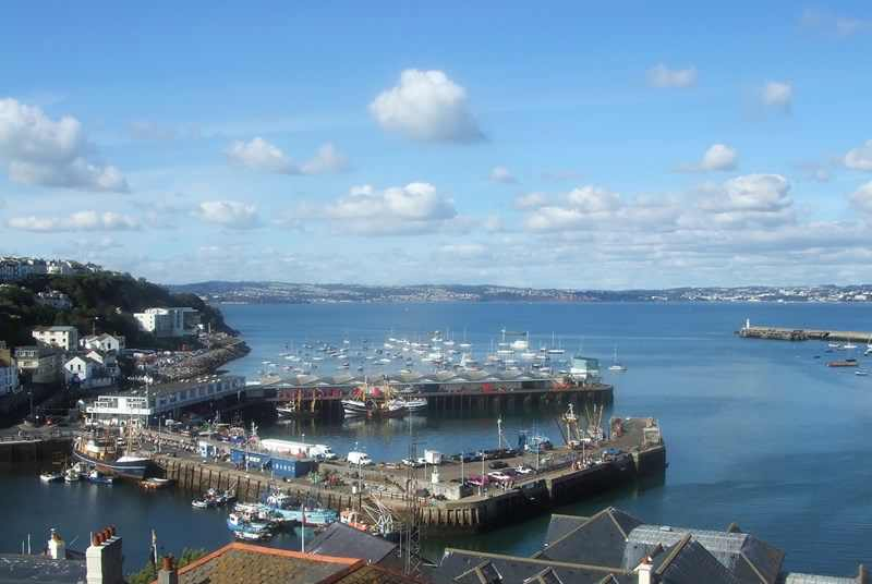 Ferries departing Brixham